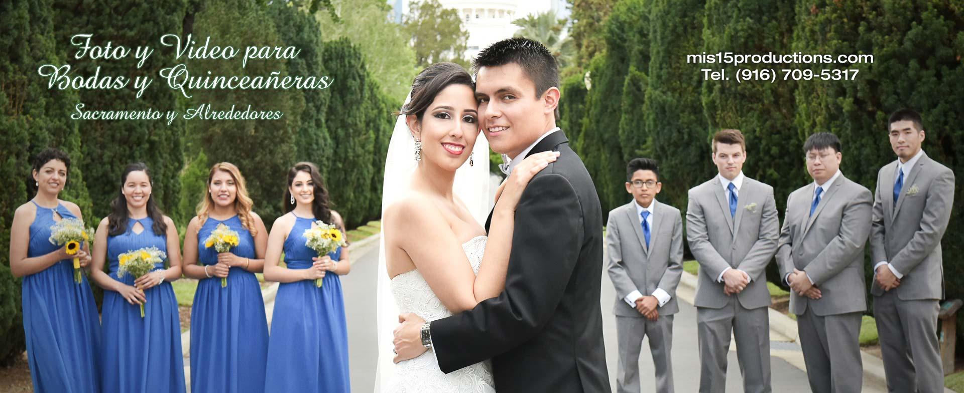 Foto y Video para Bodas en Sacramento