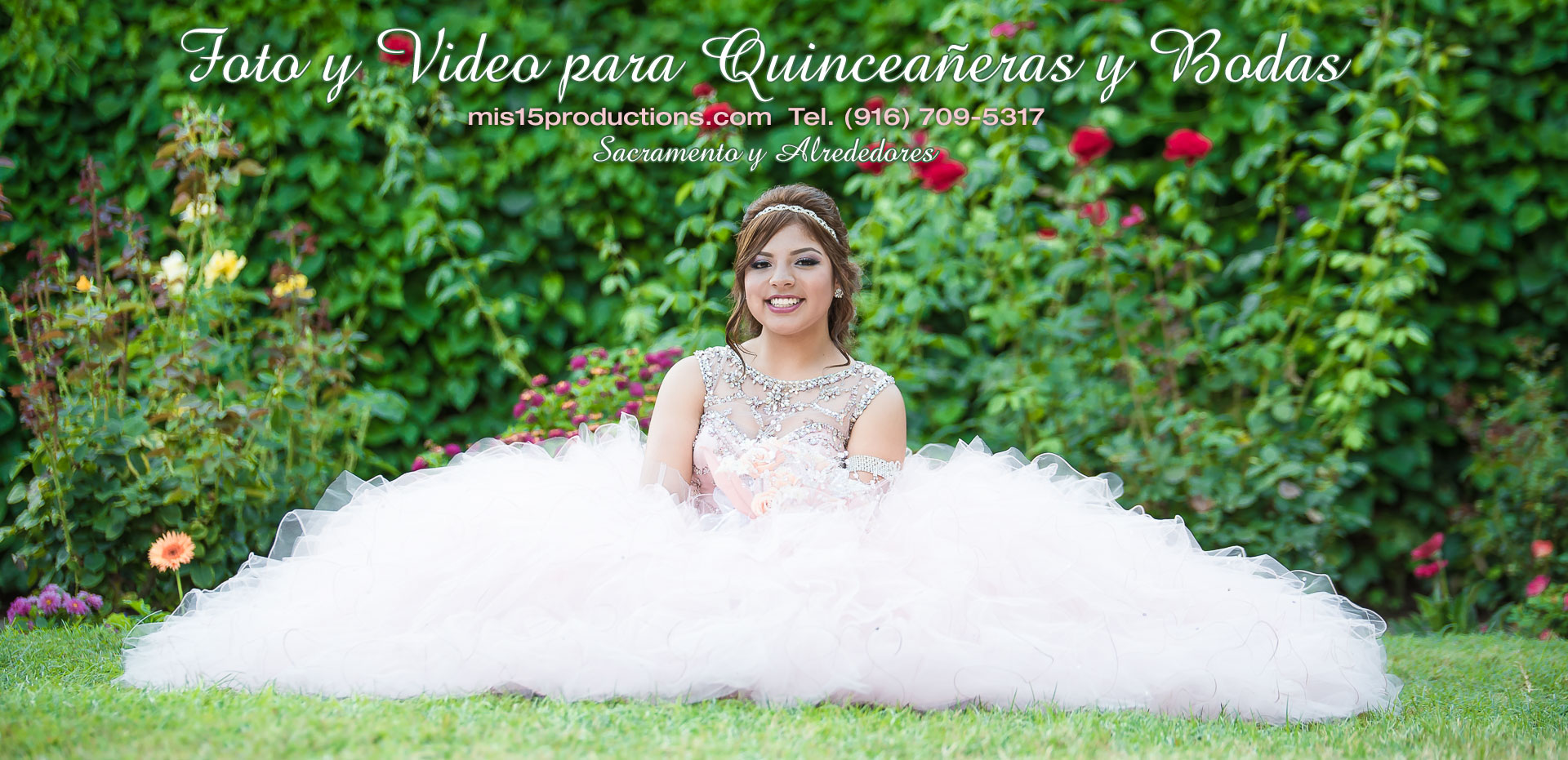 foto video 15 anos quinceanera sacramento